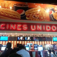 Photo taken at Cines Unidos by Angel H. on 3/3/2013