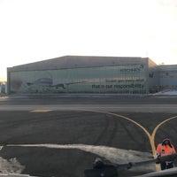 Photo taken at FL Technics, Aircraft Maintenance and Repair Organisation by Alkış H. on 2/5/2017