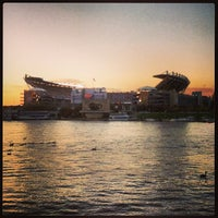 Photo taken at Heinz Field by Dave P. on 10/22/2013