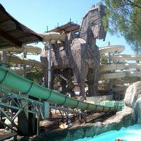 9/6/2013 tarihinde Игорь В.ziyaretçi tarafından Rixos Premium Troy Aqua Park'de çekilen fotoğraf