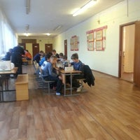 Photo taken at Школа № 1 by Tema i. on 10/19/2013