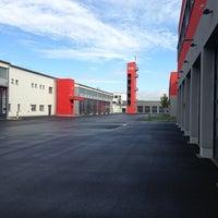 Photo taken at Hauptfeuerwache Hanau by Huskie on 8/19/2013