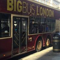 Photo taken at Big Bus Tours - London by RaHaF💘,, on 2/15/2016