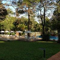 Photo taken at San Martin Hotel & Resort Foz do Iguaçu by Andrés C. on 4/26/2013