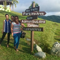 Photo taken at Canso X Mountain Adventure Park by Carlo Andrew O. on 9/6/2014