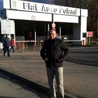 Photo taken at Fiat Auto Poland by Ilhan G. on 11/20/2013