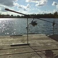 Photo taken at Damslootmeer by Luc F. on 8/13/2013