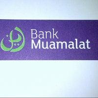 Photo taken at Bank Muamalat - Kantor Pusat by Ukonk .. on 8/30/2013