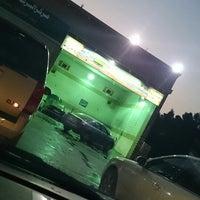 Photo taken at مغسلة البركة للسيارات by Hashim D. on 1/22/2014