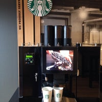 Photo taken at Starbucks corner café by Sofie H. on 1/2/2014