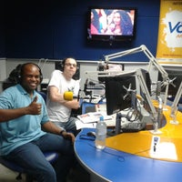 Photo taken at Rádio Voce by Marcos Gomes on 11/2/2014