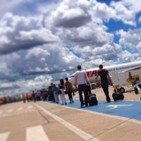 Photo taken at Goiânia Airport (GYN) by Leandro V. on 3/24/2013