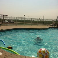 Photo taken at Prairie Edge Pool by Carolyn K. on 8/20/2013