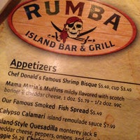 Photo taken at Rumba Island Bar & Grill by Marie D. on 4/9/2013