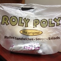 Photo taken at Roly Poly by April B. on 7/16/2014