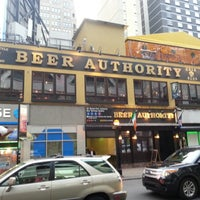 Photo taken at Beer Authority NYC by Mamute on 12/24/2012