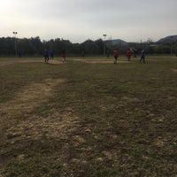 Photo taken at Yelki spor tesisleri by Ali T. on 12/31/2016