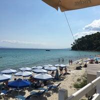 Photo taken at Almyra Beach Bar by melisa on 8/24/2017
