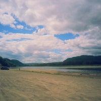 Photo taken at Tide Head Beach by Danica B. on 8/17/2013
