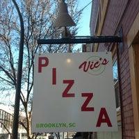 Photo taken at Vic's Pizza by Jeremy M. on 1/18/2013