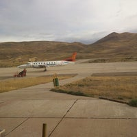 Photo taken at Aeropuerto de Potosi / Capitán Nicolas Rojas (POI) by Vane G. on 5/22/2014