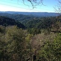 Photo taken at Santa Cruz Mountains by Nancy G. on 1/14/2013