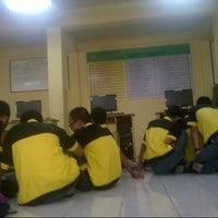 Photo taken at Ruang praktek kejuruan by Rahman A. on 9/11/2013
