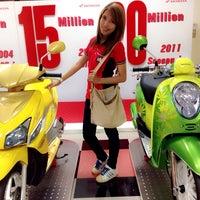 Photo taken at Thai Honda Manufacturing Co., Ltd. by Kwankaw O. on 3/27/2014