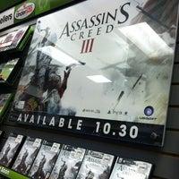 Photo taken at GameStop by Cinthia R. on 10/30/2012