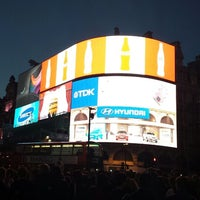Photo taken at Piccadilly Circus by Dajana S. on 10/29/2013