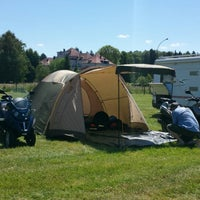 Photo taken at Seecamping Bregenz by Dajana S. on 6/7/2014