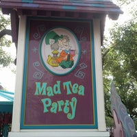 Photo taken at Mad Tea Party by Robin H. on 12/25/2012