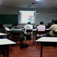Photo taken at UFAM - Faculdade de Medicina by Rafael C. on 10/18/2012