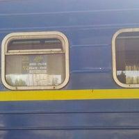 Photo taken at 457 поїзд Київ-Рахів by Alexey F. on 6/18/2015