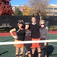 Photo taken at Gates Tennis Center by Jennifer T. on 11/8/2014