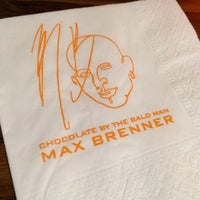 Photo taken at Max Brenner Chocolate Bar by William W. on 12/12/2013