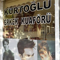 Photo taken at kurtoğlu kuaför by Adem A. on 9/18/2013