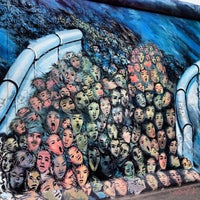 Photo taken at East Side Gallery by Patrick B. on 10/15/2013