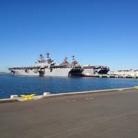Photo taken at Naval Station San Diego by Richard Francis W. on 11/12/2012