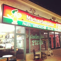 Photo taken at Michelangelo's Pizza by Richard F W. on 1/6/2014