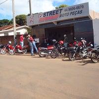 Photo taken at STREET Moto Peças by João M. on 10/16/2013