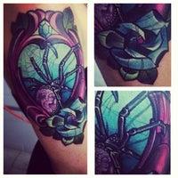 Photo taken at Impaler's Tattoo Corner by Toffee B. on 8/14/2013
