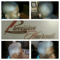 Photo taken at Precision Haircuts Grooming Lounge by Paul H. on 9/6/2013