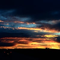 Photo taken at Limon, CO by Toby V. on 8/16/2014