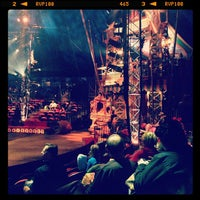 Photo taken at Big Apple Circus by Toby V. on 12/30/2012