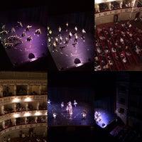 Photo taken at Teatro Domenico Alaleona by Adriano M. on 6/18/2016