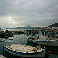 Photo taken at Παραλία Πελασγίας by Xristos G. on 2/25/2014