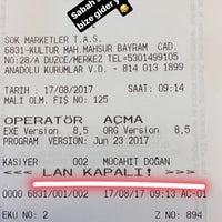 Photo taken at mansur bayram caddesi Şok Şubesi by Mücahit D. on 8/17/2017