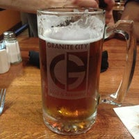 Photo taken at Granite City Food & Brewery by MERCEDEZ G. on 7/20/2013
