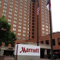 Photo taken at Marriott Winston-Salem by Bobby C. on 6/22/2013